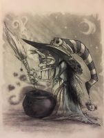 Halloween Witch by MrRevenge