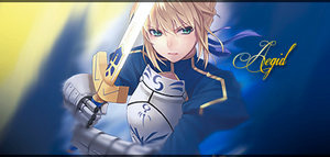 Saber Signature by Aegid