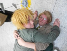 UKUS fan-service-London MCM expo 2012 October by Catlover122