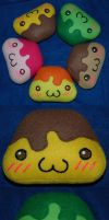 Pudding Plushies by House-of-Squee
