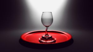Wine Glass by Jim-Zombie