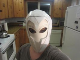 Black Frequency Costume/Helmet-incomplete by Redrosesforever