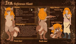 Com: Ira Reference Sheet by DragginCat