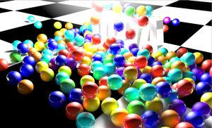 Colored balls by Gavelinus