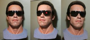 Terminator 1984 lifesize bust (New paint style!) by godaiking