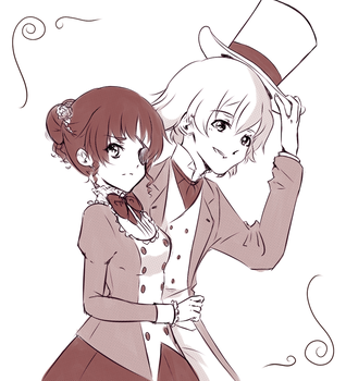 Drawing Challenge OTP (Day 4) by Mercurius-San
