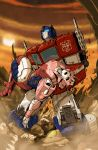 Transformers - Optimus Prime by MattMoylan