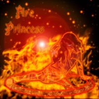 Fire Princess by BaroqueWorks1