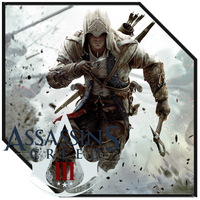 Assassian'sCreed 3 Icon (New Shape Icon) by M-Royan