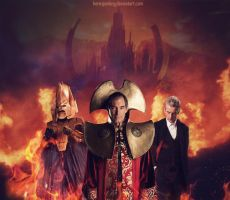 The return of Rassilon, Omega and The Other. by HeresJoeking