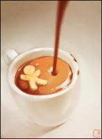 hot chocolate by GaudiBuendia