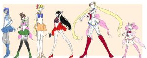 Creepypasta: Sailor Scouts by Chibi-Works