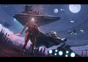 star wars speed painting by brahamil