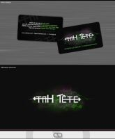 TAH TETE - business card by webgraphix