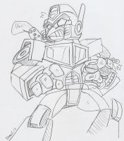 Angry Birds Transformers: That's Just Prime by BlueIke