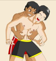 Friendly Tickling by Gargalite
