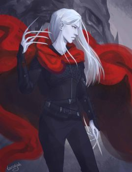 Manon Blackbeak by taratjah