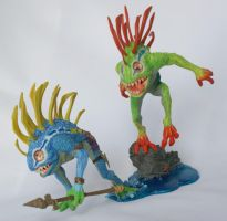 MURLOCS: FISH-EYE AND GIBBERGIL by Tendranor