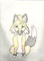 Patch The Fox made This For My Friend by Rini-Dragoone