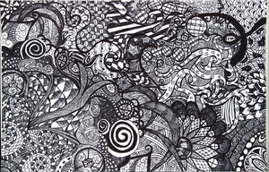 Zentangle by EvanescentWings