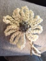 Crochet Flower AT1 by Bwabbit