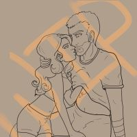More AJPUNK Lineart by PrincessAdree