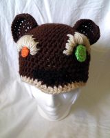 Tibbers/Reverse Annie hat by theCuddlyCephalopod