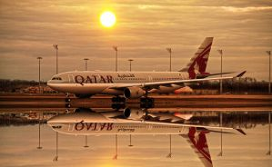 Qatar Airlines 2 by BieleckiRobert