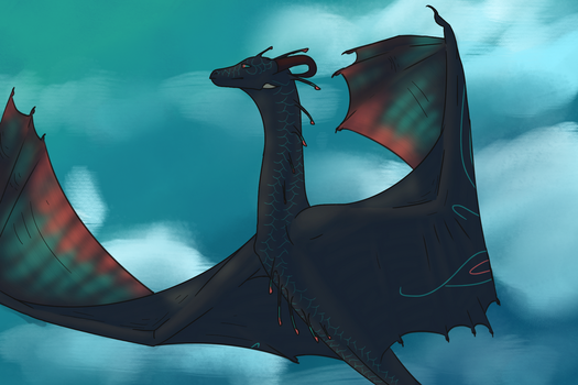 To the sky! by Eldritch-Dragon