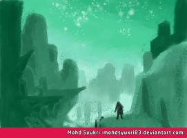 Speed Painting Landscape 2 by mohdsyukri83
