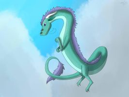 Eastern Dragon by Squiggy13