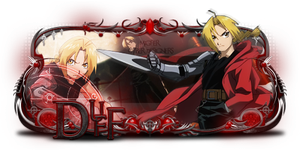 sign - edward elric by kryser