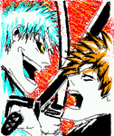 bleach ichigo fight by manju1988max
