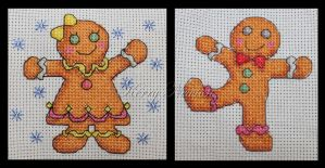 Stitch-A-Long: Abandoned (Gingerbread) by KezzaLN