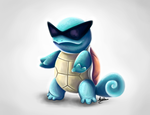 Squirtle by michelle-miranda