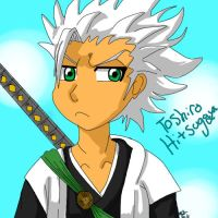 Toshiro Hitsugaya by AzulKitty