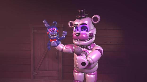 Funtime Bear by The--Signmanstrr