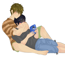 Makoto Is A Big Baby by Wrenji-kun
