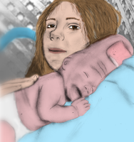 thumbbot: Newborn by dizzia
