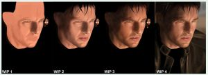 Tom Cruise - Final WIP by BikerScout
