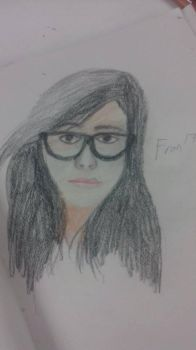 Retrato a May Chan by Gordo4ever