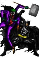 Joker vs batman: who will win? by richrow