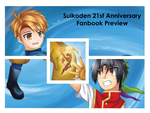 Suikoden Artbook Preview by Exekiella