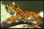 leopard mother by pharao-girl