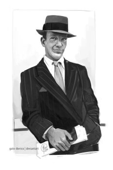 Fred Astaire Study by Gato-Iberico