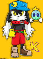 Klonoa Ps1 by emichaca