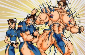 Chun Li FMG - Color by rssam000