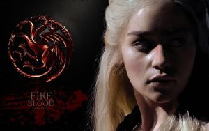 Game Of Thrones Dany Wallpaper 2 by Mick81