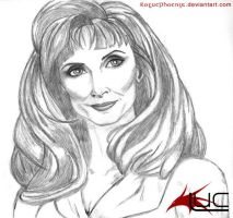 Gates McFadden 1 by roguephoenix
