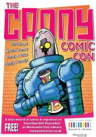 Canny Comic Con Robot Poster by m99art